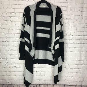 ♣️ Old Navy Grey Black Open Cardigan Medium